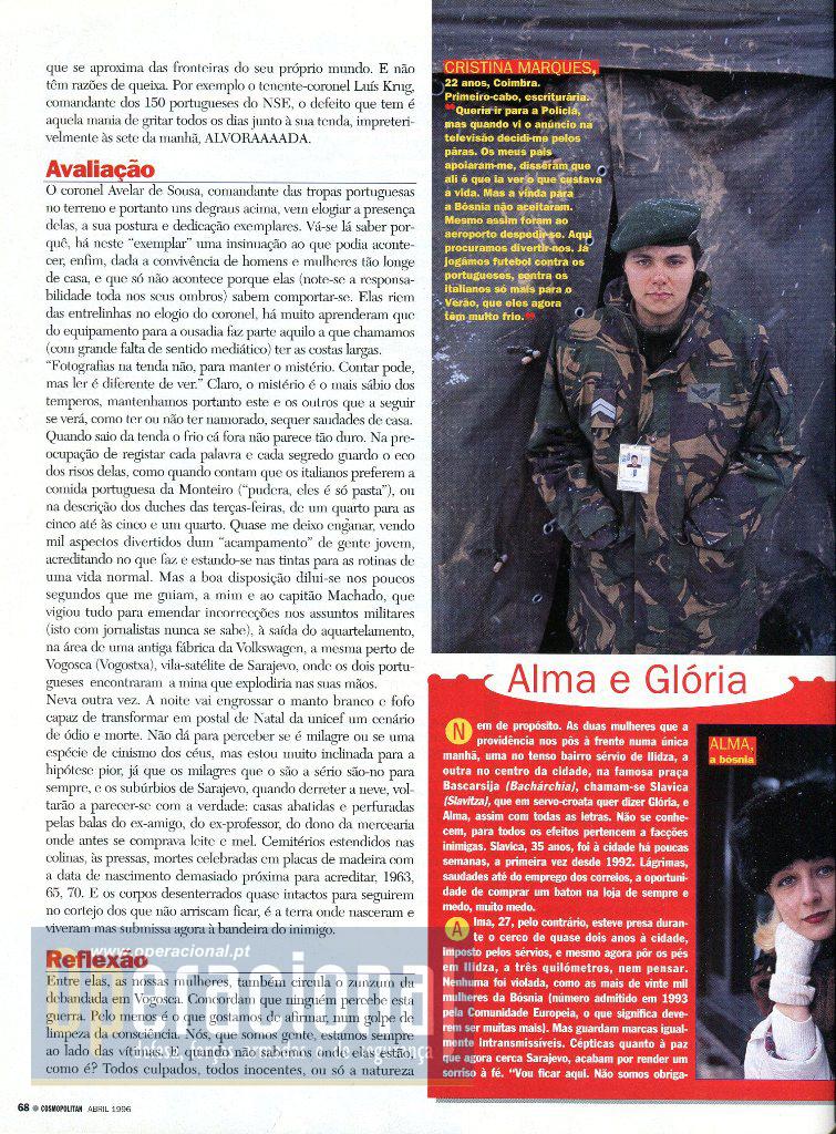 Bósnia 96 Mulheres 7