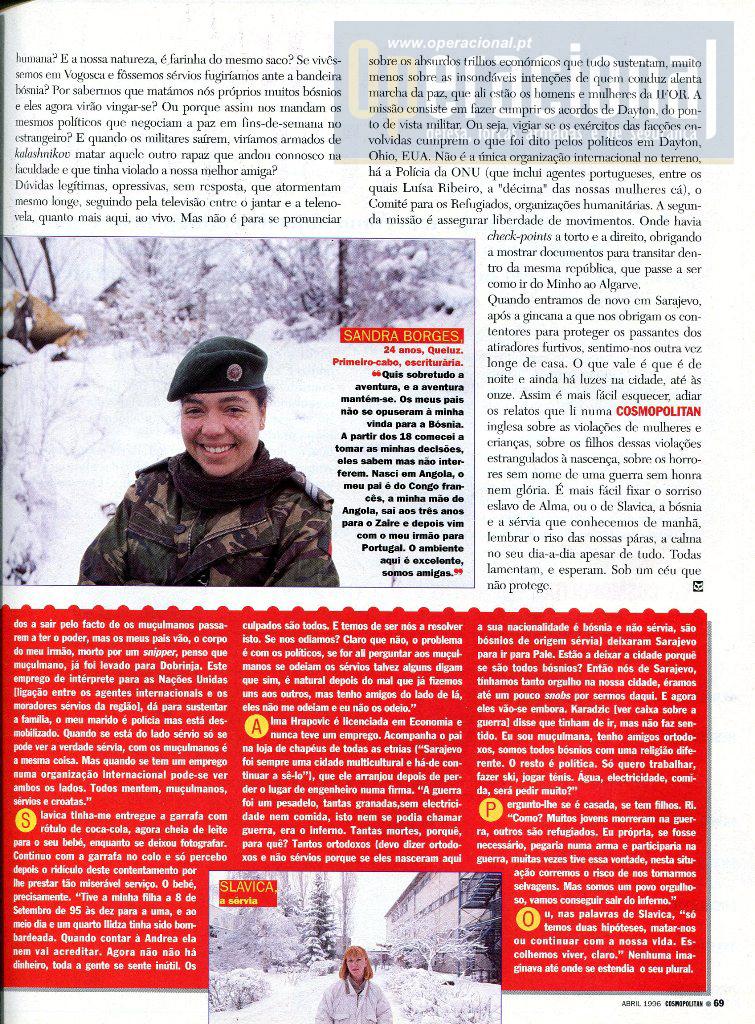 Bósnia 96 Mulheres 8