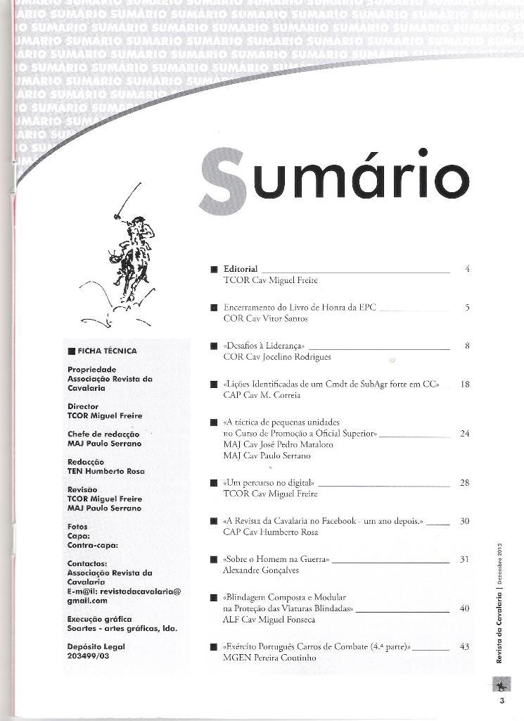 003 Revista Cavalaria