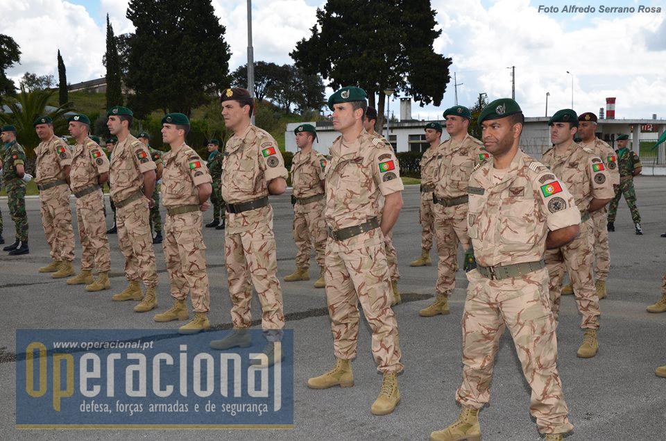 Todos os militares deste 3.º Contingente, de várias armas e serviços do Exército, a maioria paraquedistas, pertencem a unidades da BrigRR.
