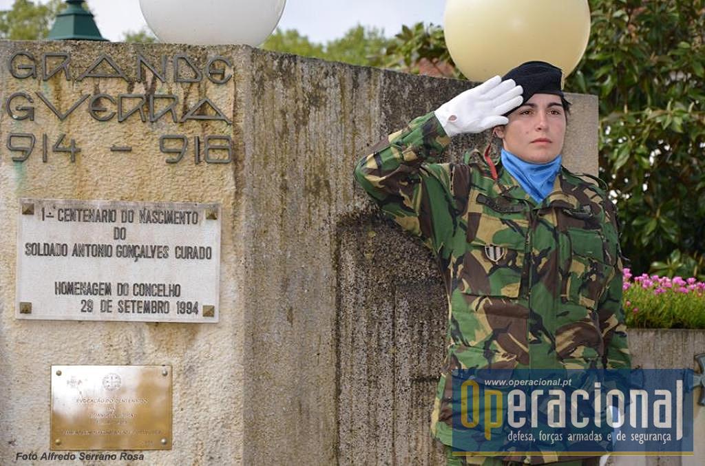 Aqui está sepultado o primeiro português a morrer em combate na Flandres: