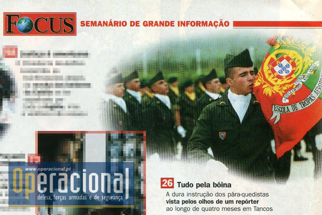 """A revista """"Focus"""", pertencia ao Grupo Impala e tinha uma edição portuguesa que terminou em 2012."""