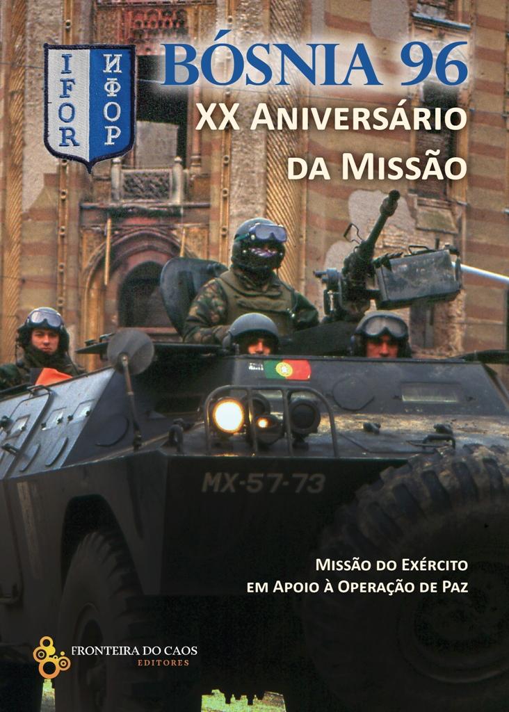 Projecto da capa da reedição do livro Bósnia 96.