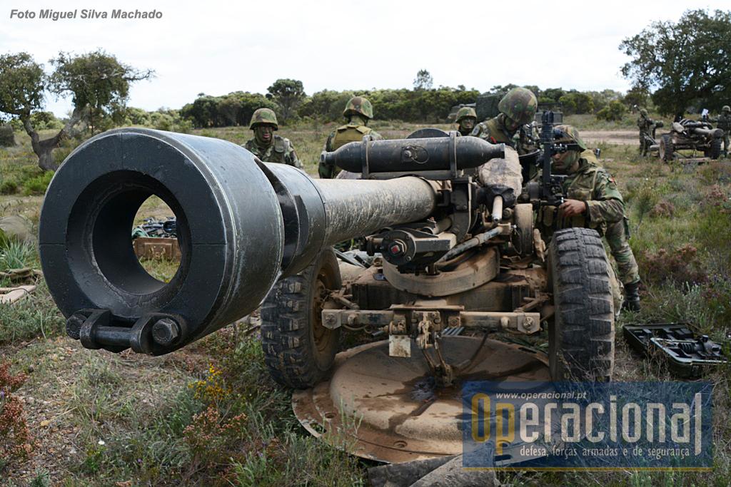 A artilharia portuguesa vai juntar-se a outras unidas Aliadas para actuar na fronteira Leste da NATO.