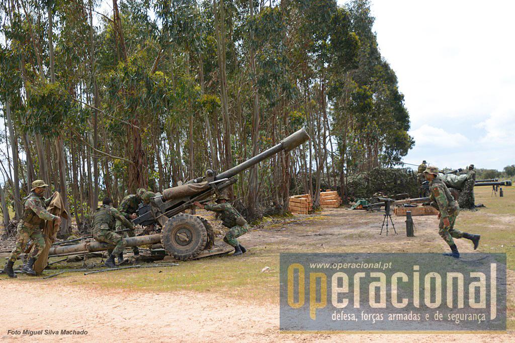 A BAC dispõe de 6 M119