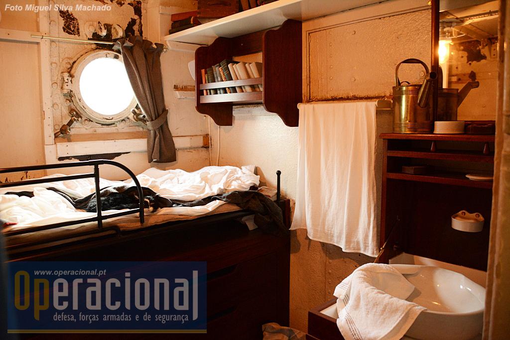 A cabine do comandante
