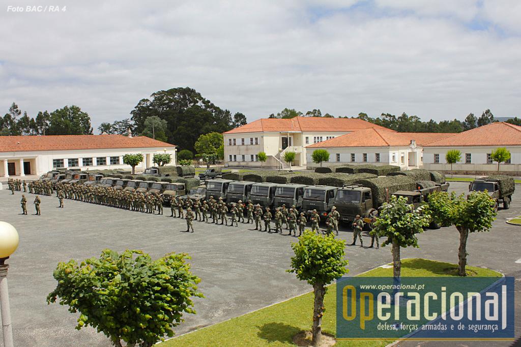 A artilharia do Exército Português vai cumprir a sua primeira missão expedicionária no Pós-Guerra do Ultramar.