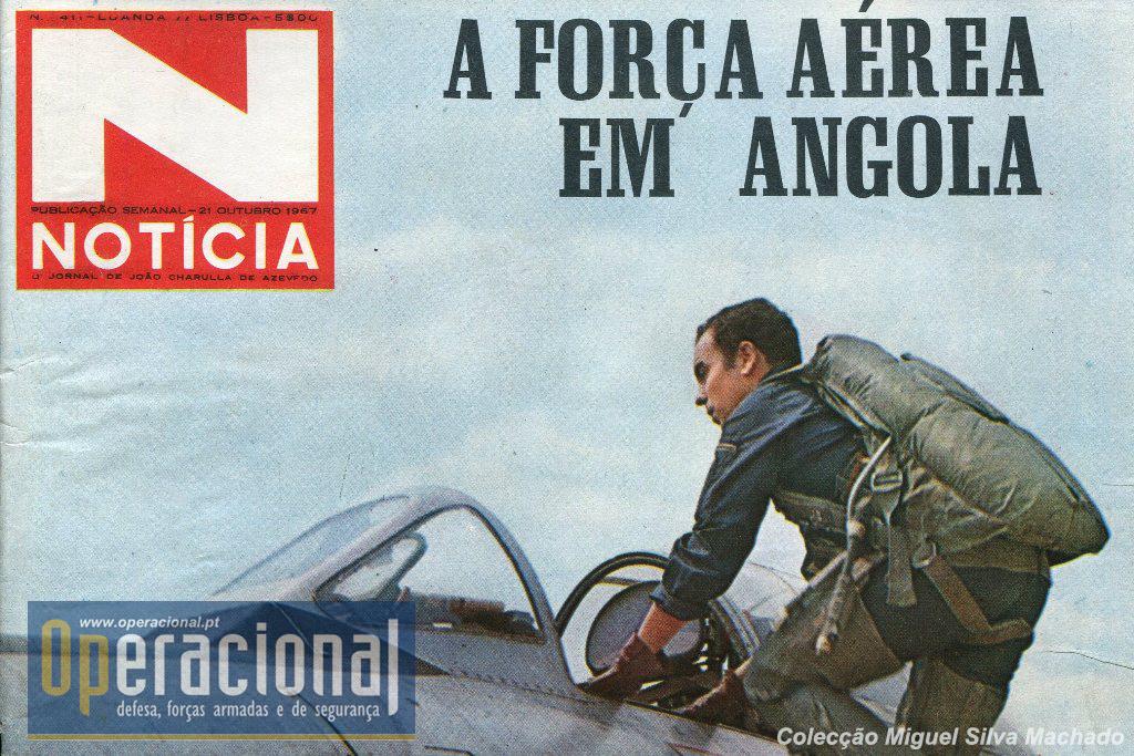 «Ostentando nas asas a Cruz de Cristo, como símbolo de uma acção de força que não ignora os mais sagrados princípios do espírito humano, a Força Aérea tem-se distinguido, em Angola» 21OUT1967.