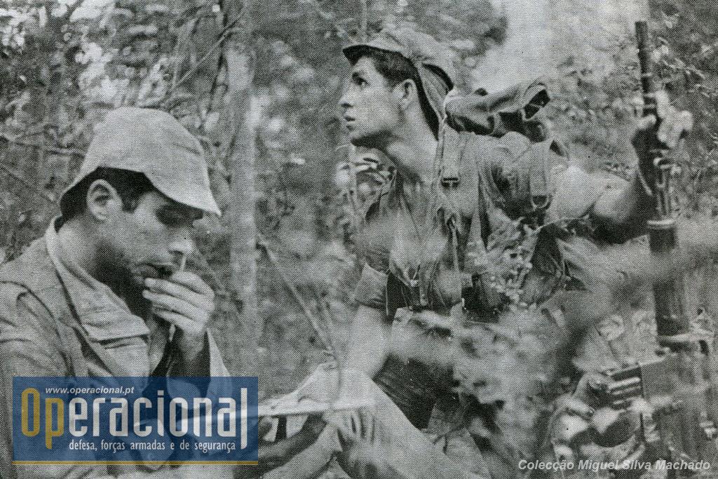 Páras do Batalhão de Caçadores Pára-quedistas n.º 21, são parte dos protagonistas desta reportagem de Fernando Farinha (texto e fotos)