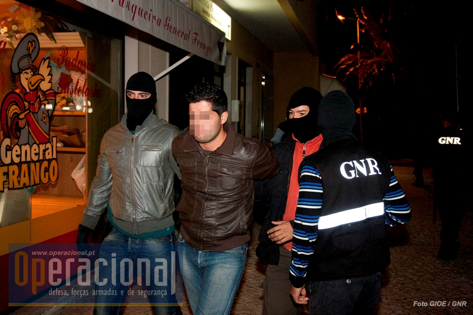 Alguns dos criminosos mais violentos que operavam em Portugal foram presos pelo GIOE.