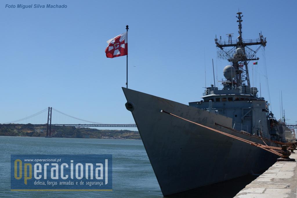 A ORP General Tadeusz Kosciuszko, na Rocha do Conde de Óbidos, em Lisboa, no passado dia 8 de Setembro.