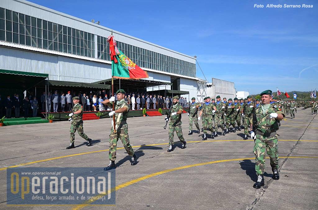 Estandarte Nacional da BrigRR e Escolta.