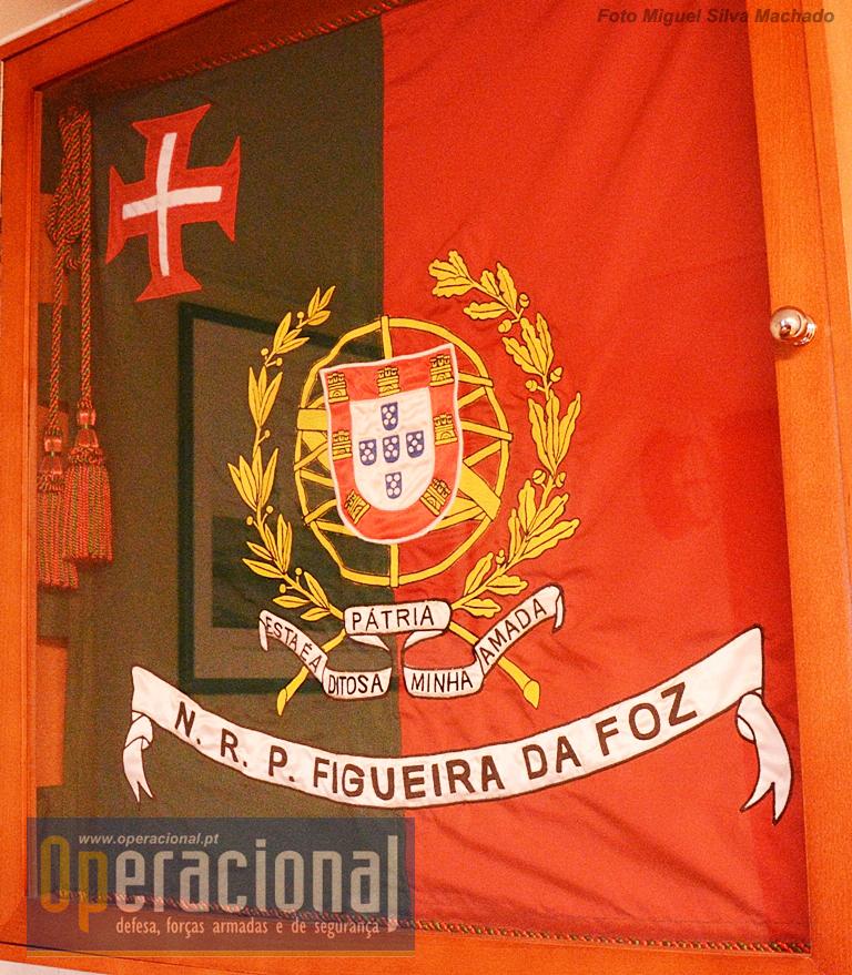 O Estandarte Nacional do NRP FIGUEIRA DA FOZ