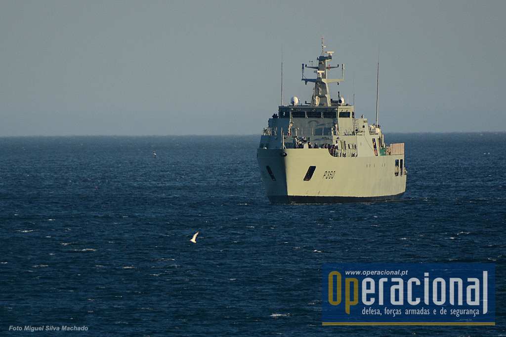 O NRP Figueira da Foz (na imagem o Viana do Castelo da mesma classe) está neste momento no Mediterrâneo Central empenhado na Operação Triton da Agência Europeia de Fronteiras.