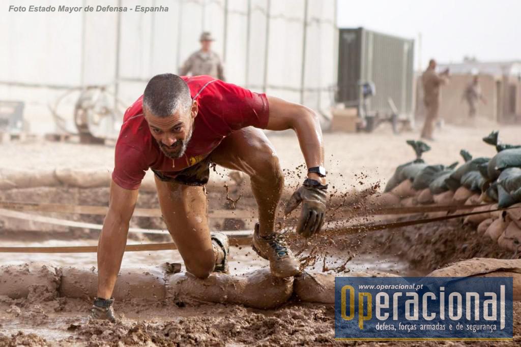"""A actividade desportiva, alguma bem """"rústica"""", é sempre uma preocupação para qualquer força empenhada neste tipo de missões."""